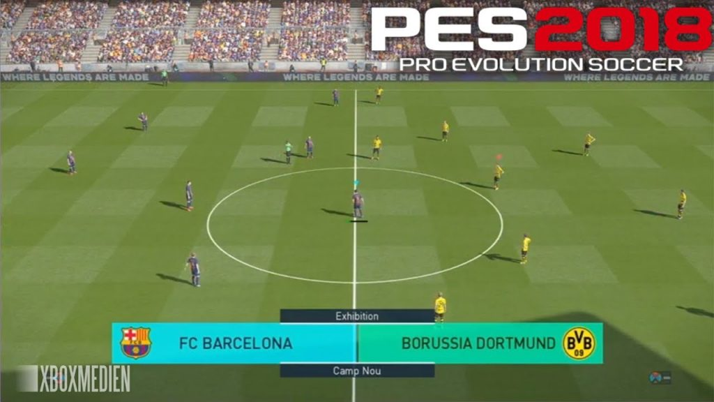 PES 2018 1 1024x576 - PES 2018 PC Free Download