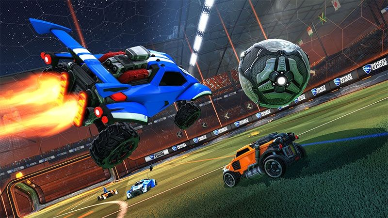 Rocket League Soccer Game