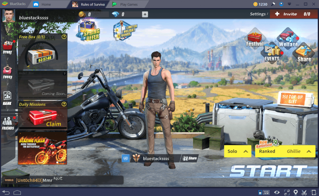 Rules Of Survival Game Download