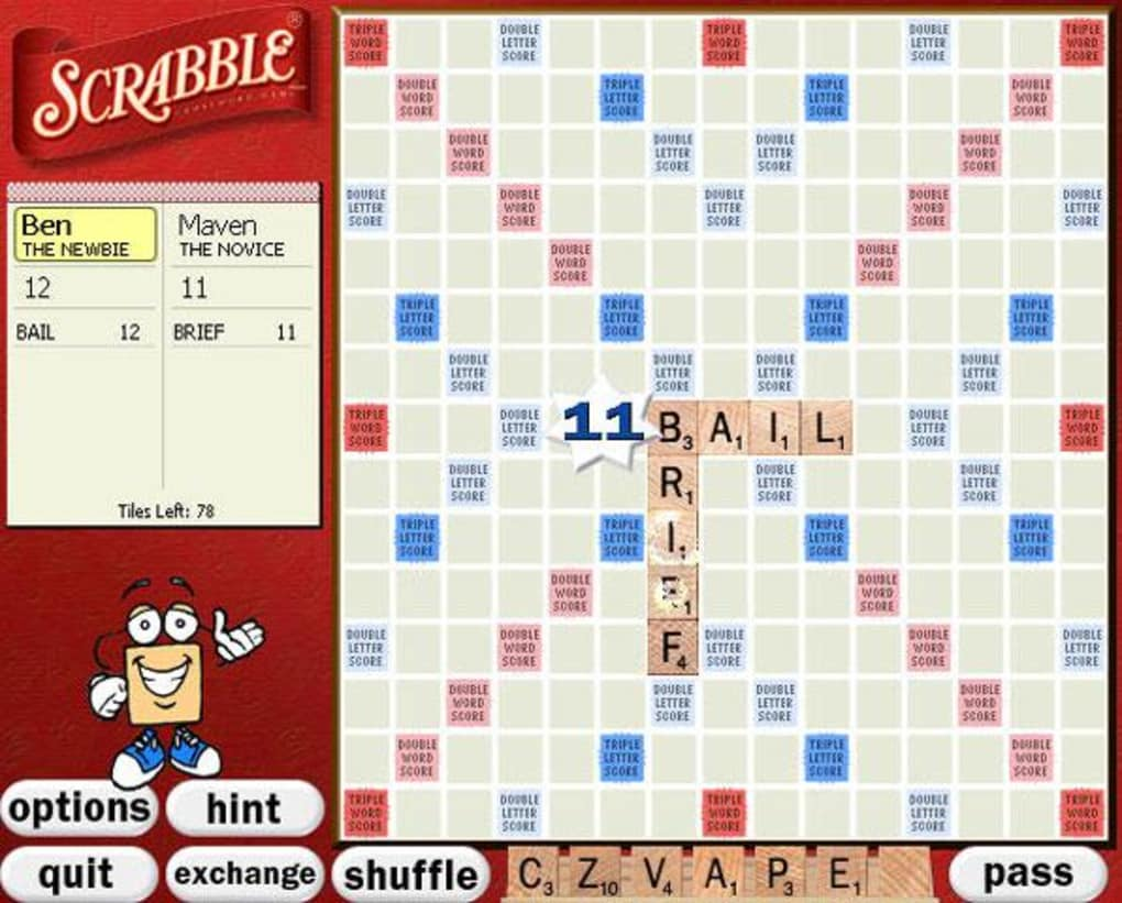 Scrabble Free Download For PC Full Version