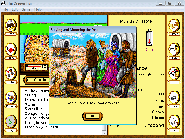 oregon trail computer game download