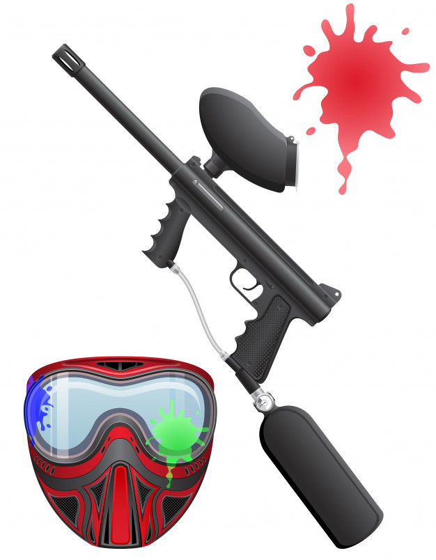 Paintball Game and Tippmann A5 Review