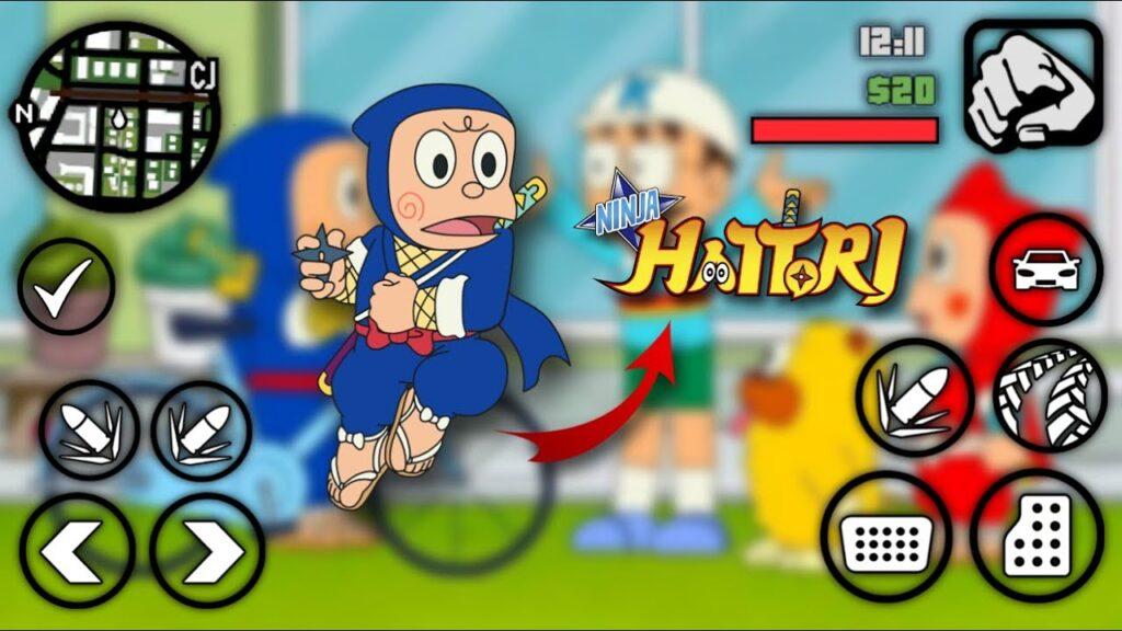 Ninja Hattori Game Download